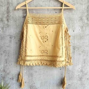 Free People Garden Party Tank